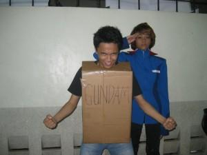 Kookee as a random Gundam Guy :-)