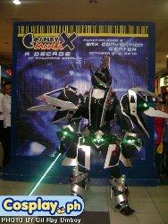 Xaga Rae donning the Acretia Power Core Set armor