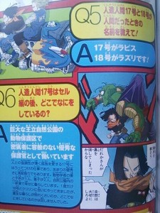 Dragon Ball Android 17 18