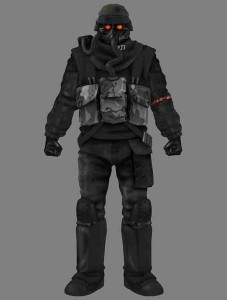 Helghast Assault Trooper