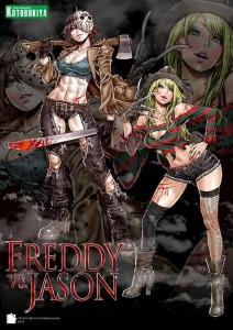 Kotobukiya Freddy vs Jason