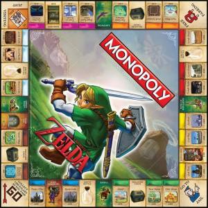 Monopoly Legend Of Zelda