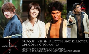 Rurouni Kenshin in Manila