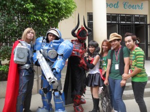 capitol university mini cosplay event 3