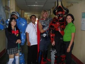 capitol university mini cosplay event 1