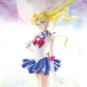 Sailor Moon Tribute Album cover art by none other than Naoko Takeuchi