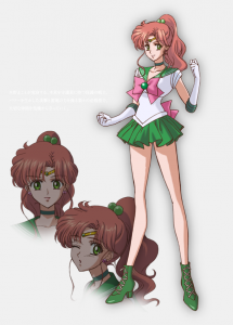 Sailor Moon Crystal Jupiter