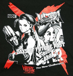 Street Fighter Days of Future Past Shirt
