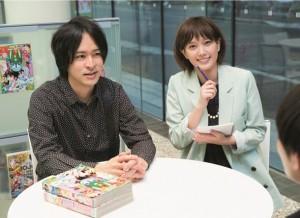 Tsubasa Honda Shonen Jump Editor