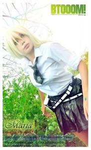 Akemi-chan as Himiko from Btoom!