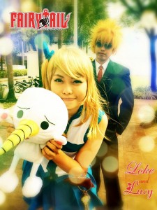 Akemi-chan as Lucy Heartfilia from Fairy Tale