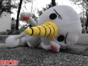A sample of Akemi-chan's work. Plue from Rave Master and Fairy Tale.