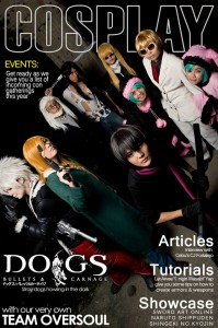 Akemi-chan with OVERSOULCebu on the cover of Cosplay