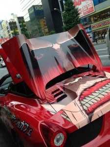 attack on titan ferrari
