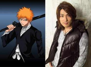 bleach ichigo voice actor