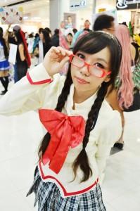 Celes as Homura Akemi from Puella Magi Madoka Magica. Photo taken by EGNebran.