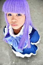 Chinkee as Lady Bernkastel from Umineko No Naku Koro Ni