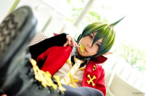 Liao as Amaimon from Ao no Exorcist
