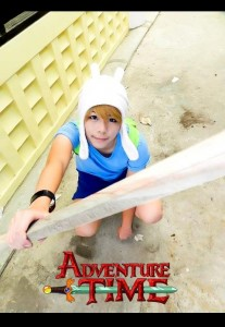 Liao as Finn the Human from Adventure Time