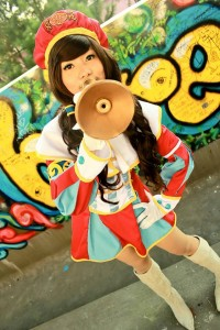 Mikee Aranjuez as Events Planner Irine from Dragon Nest. Photo taken by Carlos Liao.