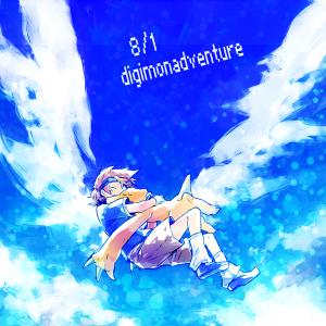 Digimon Fan Art by 暮宙シュン@コノエネ乞食ボット