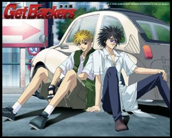 Ginji Amano and Ban Mido are the GetBackers!