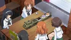 girls und panzer cake