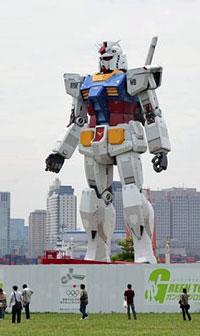 gundam robot shizuoka