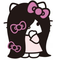 Sadako 3D X Hello Kitty