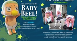 Animax Carnival 2012 will feature the Cosplay Queen, Alodia Gosiengfiao, as well as Baby Beel from the anime Beelzebub.