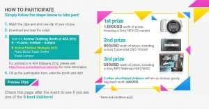 Animax Asia Dubbing Competition