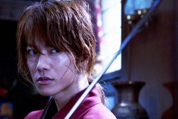 Kenshin Himura in the Samurai X live action movie