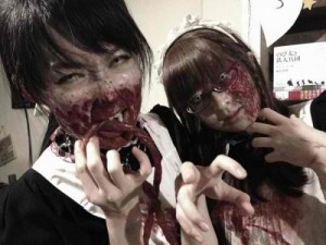 maid cafe zombie