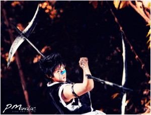 Donaire as Hisagi Shuhei from Bleach