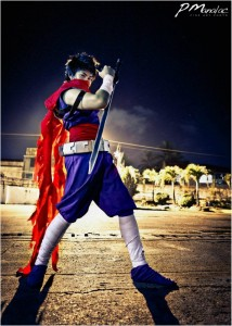Donaire as Strider Hiryu