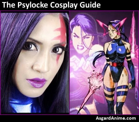 Guide to cosplay psylocke