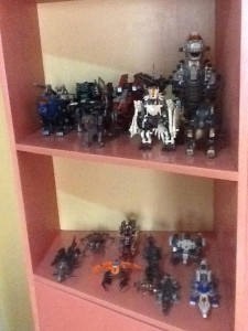 Some of Tidoy's Zoids
