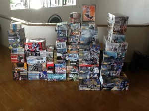 Some of Tidoy's box collection