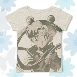 sailor moon face shirt