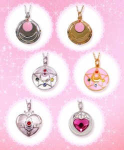 sailor moon necklace