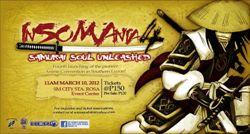 poster for InSOMAnia 4: Samurai Soul Unleashed