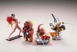 shingeki no kyojin capsule toys