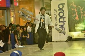 Nikko Araña as Debonair Jayce from League of Legends