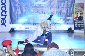 Mil Donaire as Minato Namikaze from Naruto